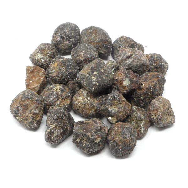 Garnet Pebbles raw 16oz All Raw Crystals bulk garnet