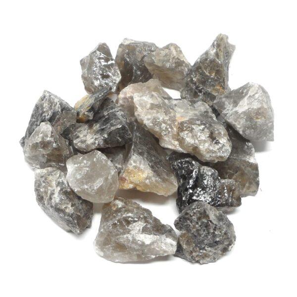 Smoky Quartz raw 16oz All Raw Crystals bulk smoky quartz