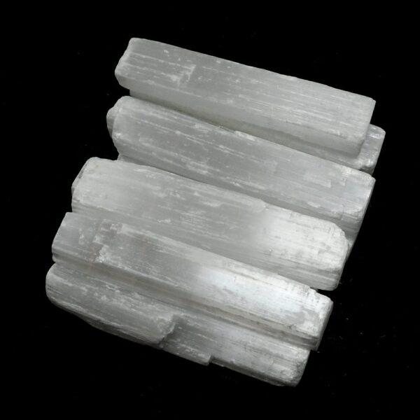 Selenite 3 inch sticks 10pc All Raw Crystals bulk selenite